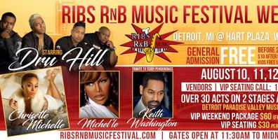 Ribs RnB Music Festival Weekend