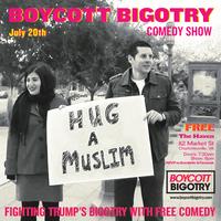 Boycott Bigotry Comedy Show in Charlottesville, VA