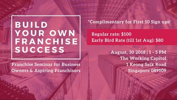 Franchise My Business Seminar