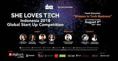 [TALK] SHE LOVES TECH INDONESIA 2018 - WOMEN IN TECH...