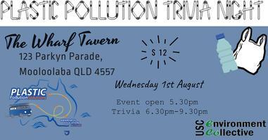 Prevent Plastic Pollution Trivia Night