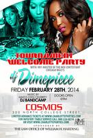 Tournament Welcome Party featuring DJ Dime Piece