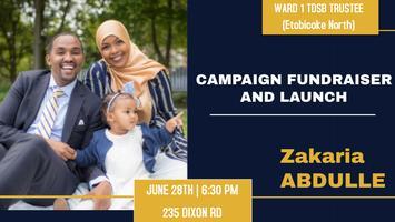 Zakaria Abdulle - Ward 1 TDSB Trustee Campaign...