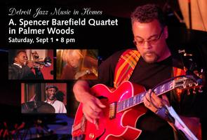SOLD OUT! A. Spencer Barefield Quartet in Palmer...