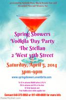Spring Showers - Vodkila Day Party