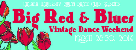Big Red & Blues Vintage Dance Weekend 2014