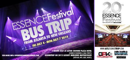 ATL-2-NOLA - 20th Anniversary Essence Festival Trip - July...