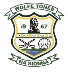 Wolfe Tones na Sionna GAA Club logo