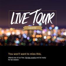 Lacerte® Season Readiness Regional Tour logo