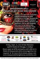 MASQUERADE THE NIGHT AWAY: A NIGHT OF ART MUSIC AND...