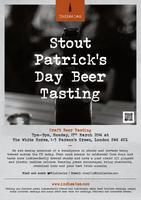 STout Patrick's Day Beer Tasting