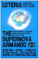 Improv Comedy: Supernova Armando with guest Colin Bates