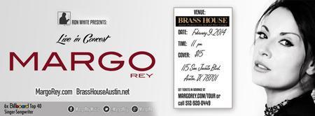 Margo Rey LIVE @ Brass House - Austin, TX