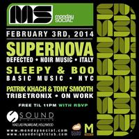 Monday Social at Sound SUPERNOVA ::FREE w/RSVP on the...