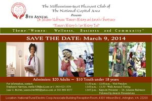 8th Annual Dr. Julianne Malveaux Women's History and...