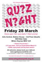 Arts Central Quiz Night - 28th March 2014