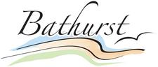 City of / Ville de Bathurst logo