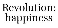 Revolution: happiness logo