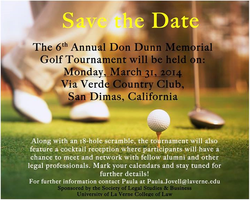 6th Annual Don Dunn Memorial Golf Tournament