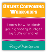 Couponing and Grocery Savings Workshop: An Online...