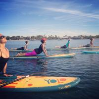 SUPing-Stand Up Paddle Boarding and Yoga Gathering!