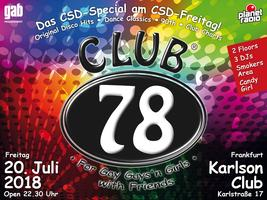 """Club 78 """"CSD-Spezial"""""""