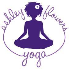 Ashley Flowers Yoga logo