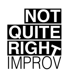 Not Quite Right Improv logo