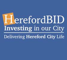 Hereford BID delivering Hereford City Life logo