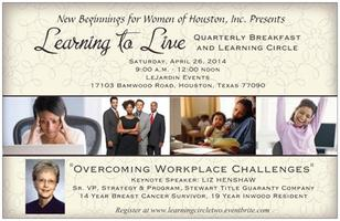 New Beginnings for Women Presents Quarterly Breakfast a...