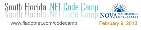 South Florida Code Camp 2013