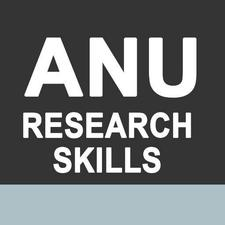 ANU Research Skills and Training logo