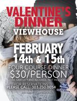 ViewHouse's Valentines Day Dinner