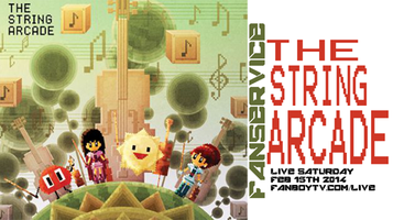 The Music Of The String Arcade