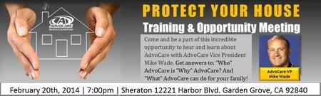Protect Your House Training and AdvoCare Opportunity Me...