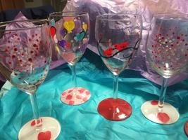 Wine Glass Painting - THEME: Variety Night (Early...
