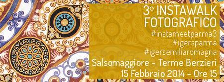 #instameetparma3: a Salsomaggiore Terme sulle tracce...