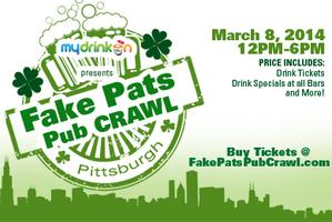 Fake Patty's Pub Crawl Pittsburgh