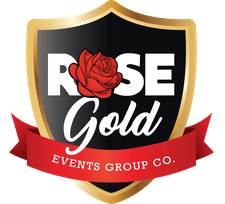 Rose Gold Events Co. logo