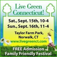 Live Green CT! Free Week-end Music Festival!