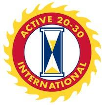 Active 20-30 Sacramento No.1 logo