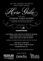 "Luke's Wings Hero Gala featuring ""Fashion Takes Flight"""