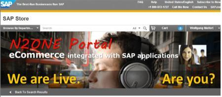 Web Portals for SAP - eCommerce B2B/B2C Plus Sales...