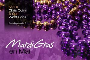 'Mardi Gras en Mai' Featuring Chef Chris Quinn