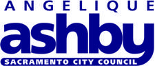 Office of Mayor Pro Tem Angelique Ashby and Natomas Chamber of Commerce logo