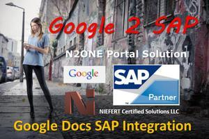 Google Docs with SAP ECC 6.0 Integration
