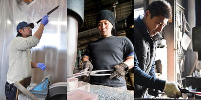 Masakage and Ironclad Knives Blacksmiths 2018 Canadian...