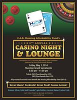 5Th Annual Housing Affordability Fund Casino Night &...