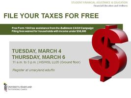 Free Tax Preparation with Baltimore CASH