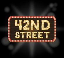 42nd Street Saturday Evening Performance
